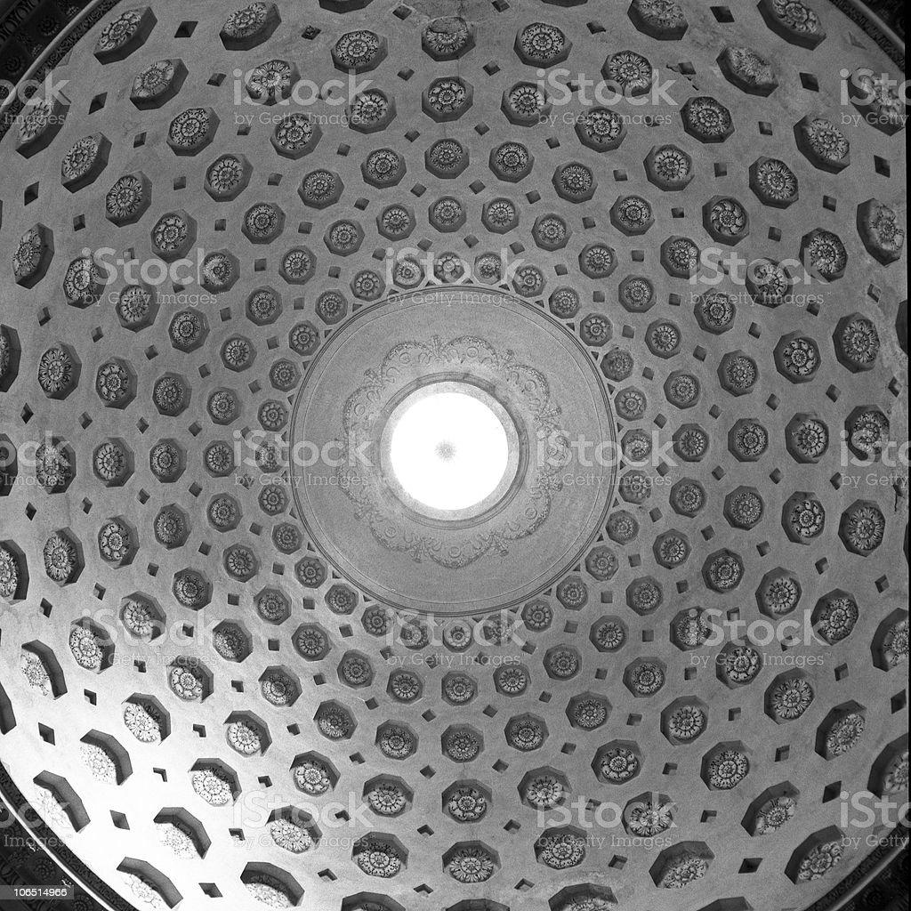 Dome circles. royalty-free stock photo