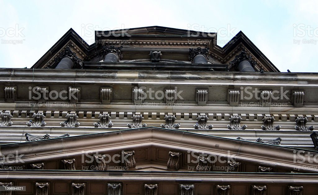 Dome, detail, in Berlin royalty-free stock photo