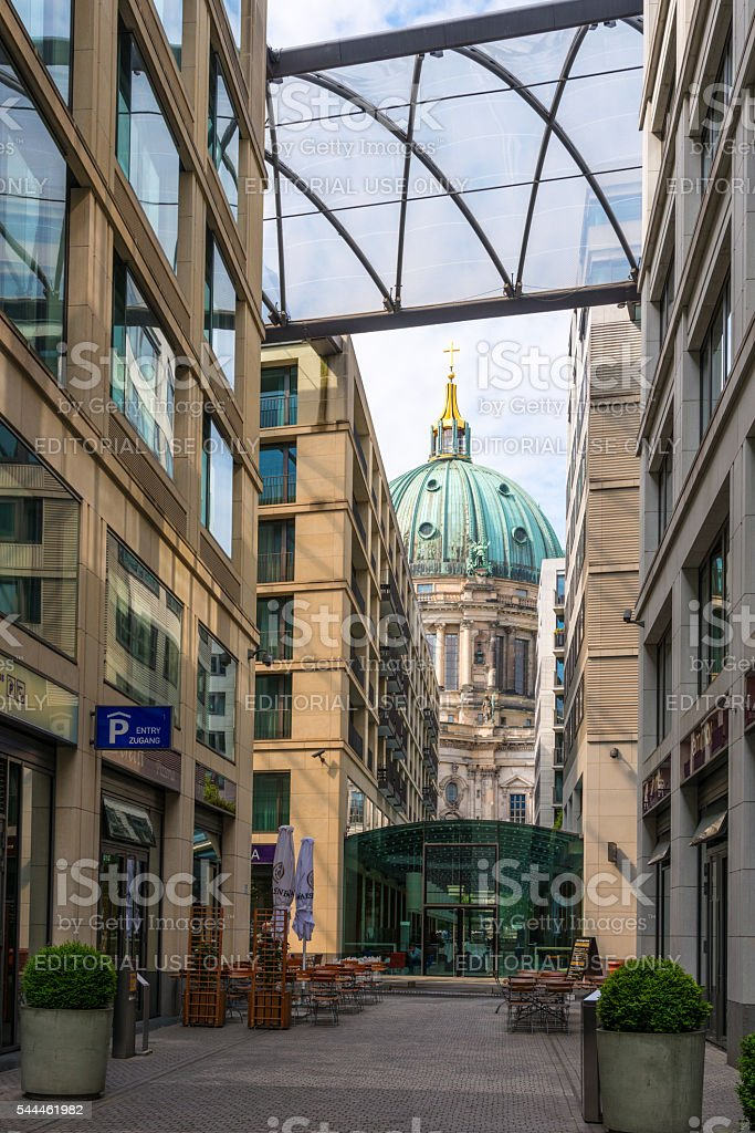 Dome in Berlin, Germany, Berlin Cathedral stock photo