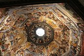 Dome in Cathedral Santa Maria del Fiore, Florence Italy