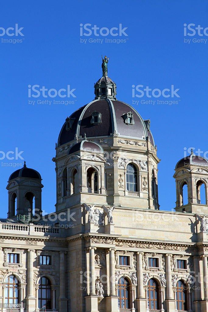 Dome in Vienna stock photo