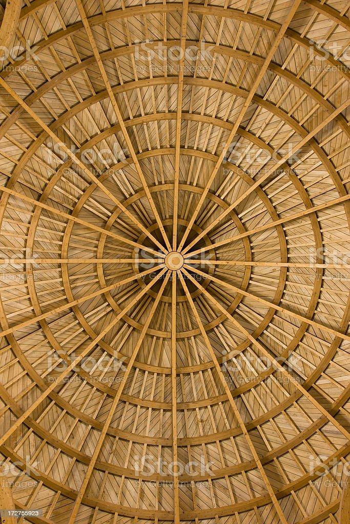Dome Interior royalty-free stock photo