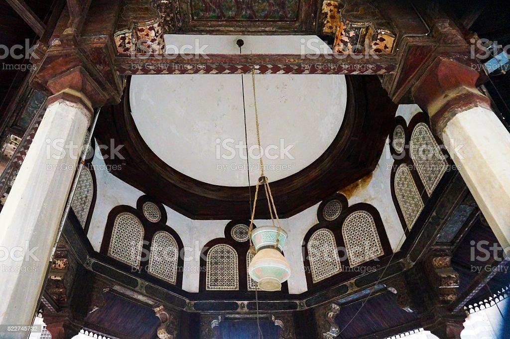 Dome Interior stock photo