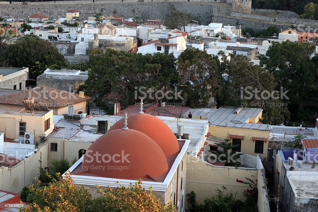 Dome mosque of Soliman stock photo
