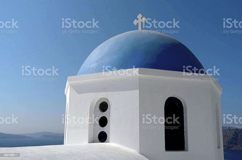 ドーム型の教会でイアます。 ロイヤリティフリーストックフォト