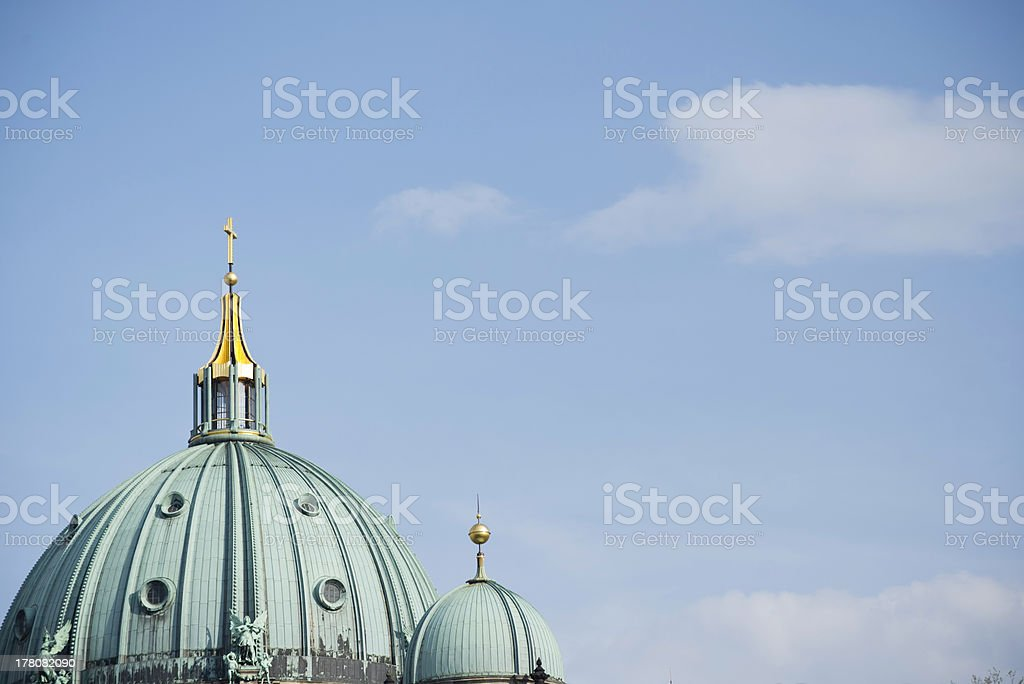 Dome of Berlin Cathedral royalty-free stock photo