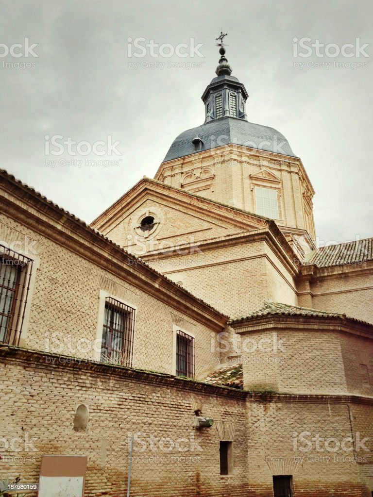 Dome of Jesuit church, Toledo, Spain royalty-free stock photo