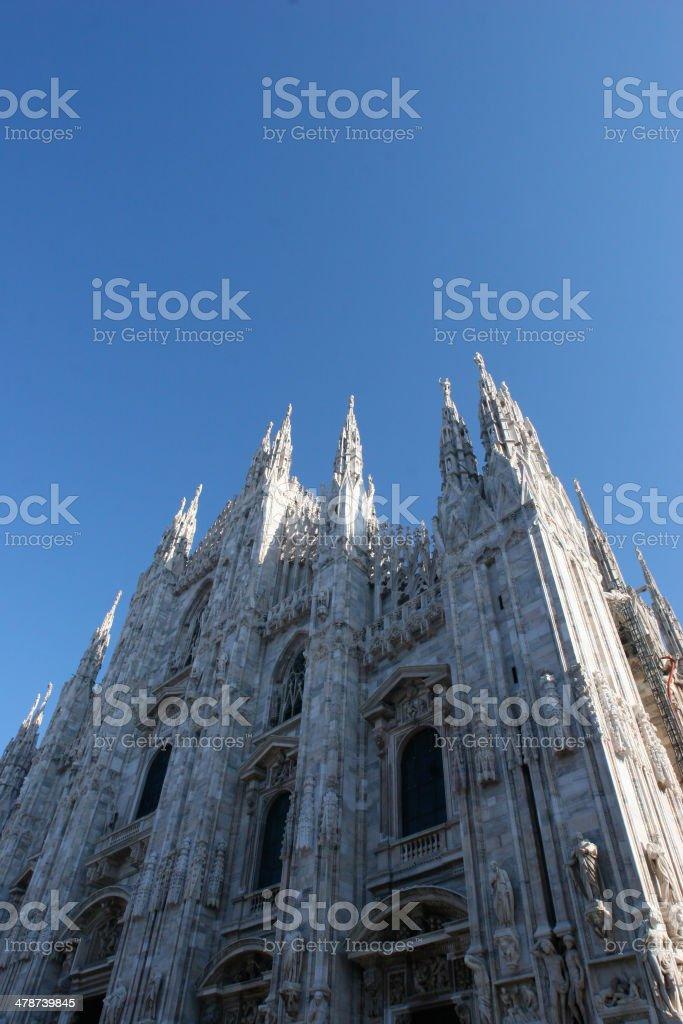 dome of milan stock photo