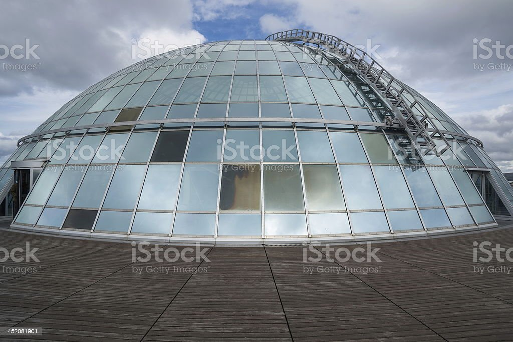 Dome of Perlan royalty-free stock photo