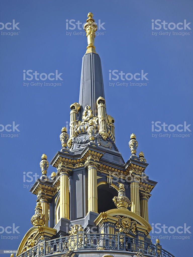 Dome of San Francisco City Hall stock photo