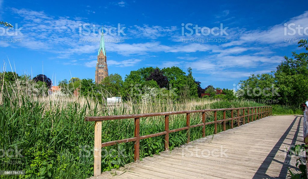 Dome of Schleswig! stock photo