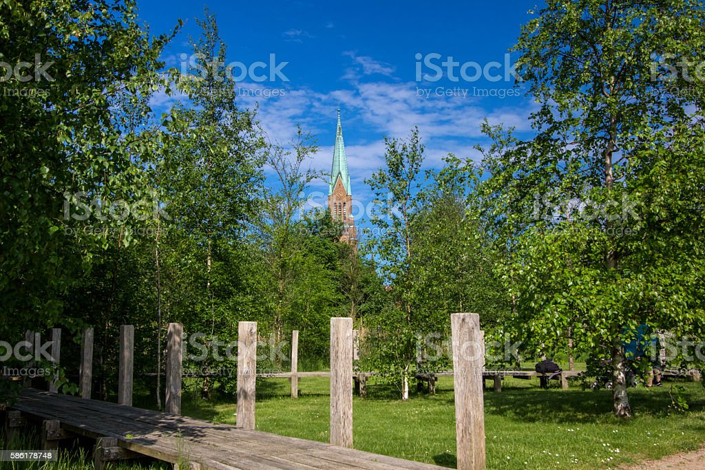 Dome of Schleswig stock photo