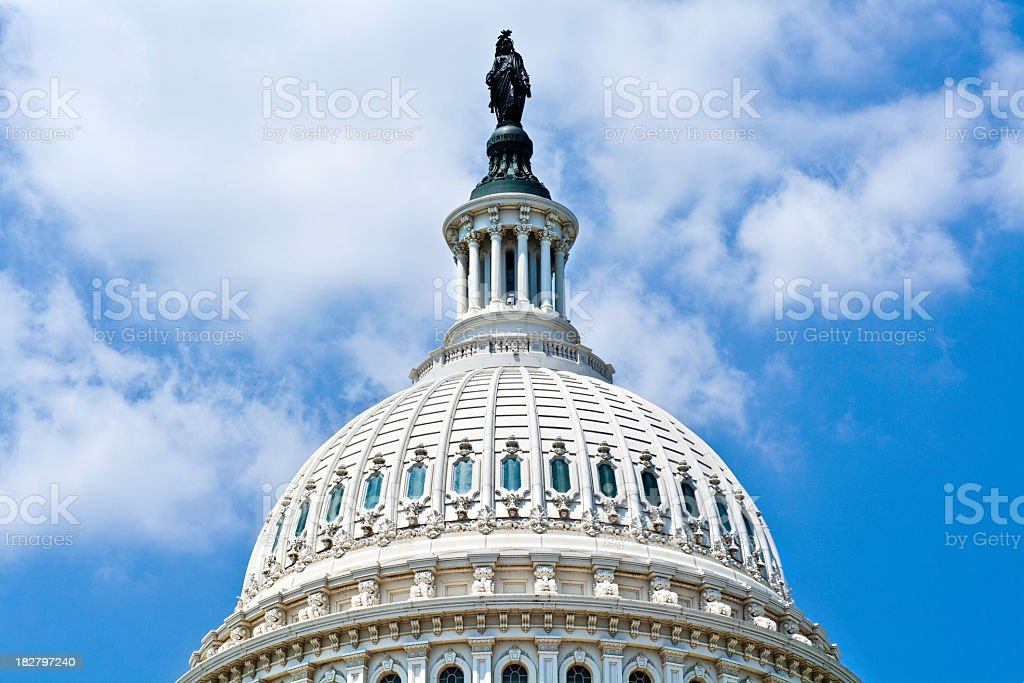Dome of the Capitol, D C stock photo