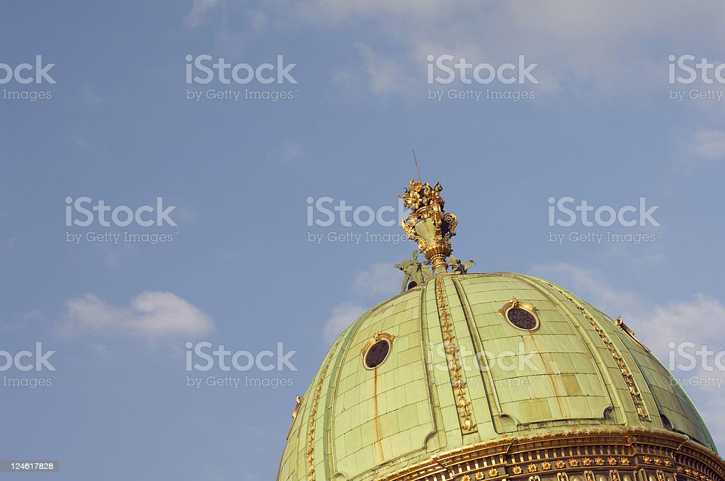 dome of the imperial apartments stock photo
