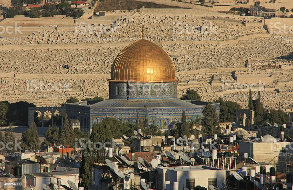Dome of the Rock in Jerusalem old city . royalty-free stock photo