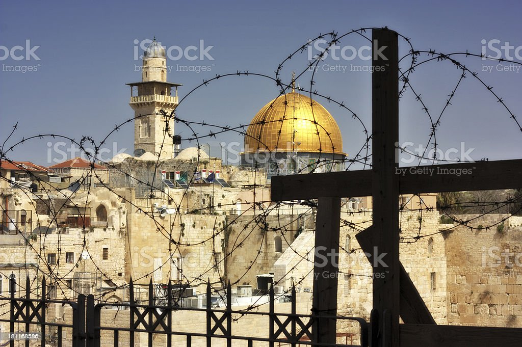 Dome of the rock, Jerusalem Israel royalty-free stock photo