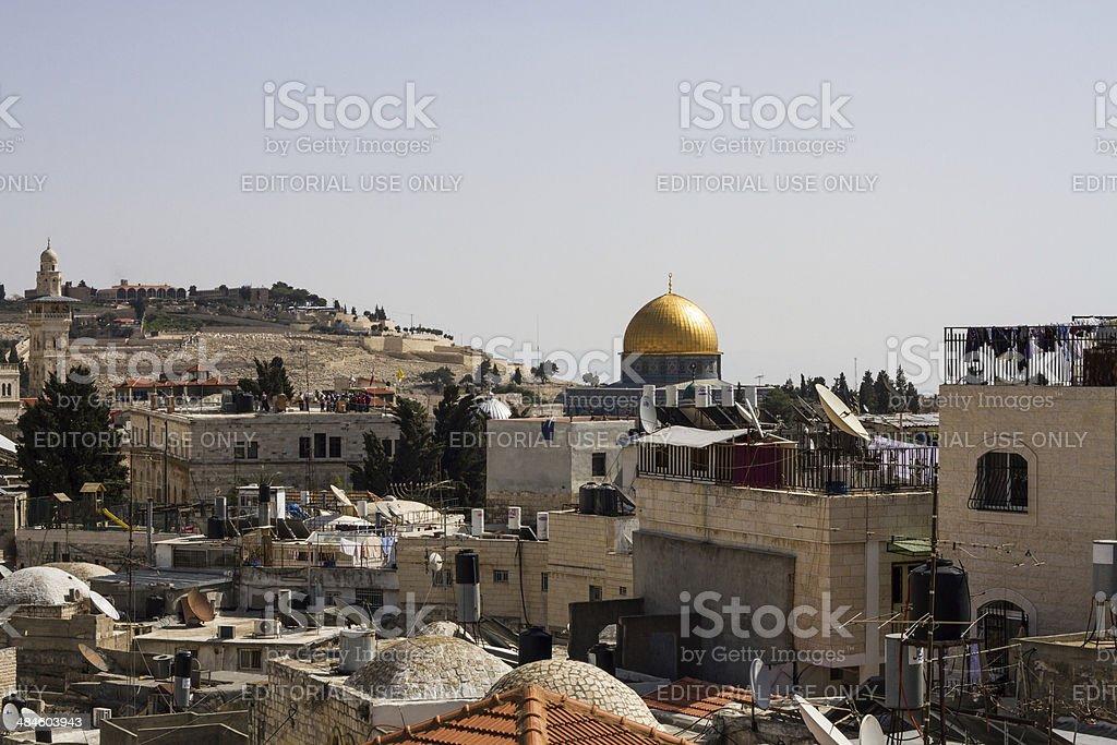 Dome of the Rock, Jerusalem, Israel stock photo