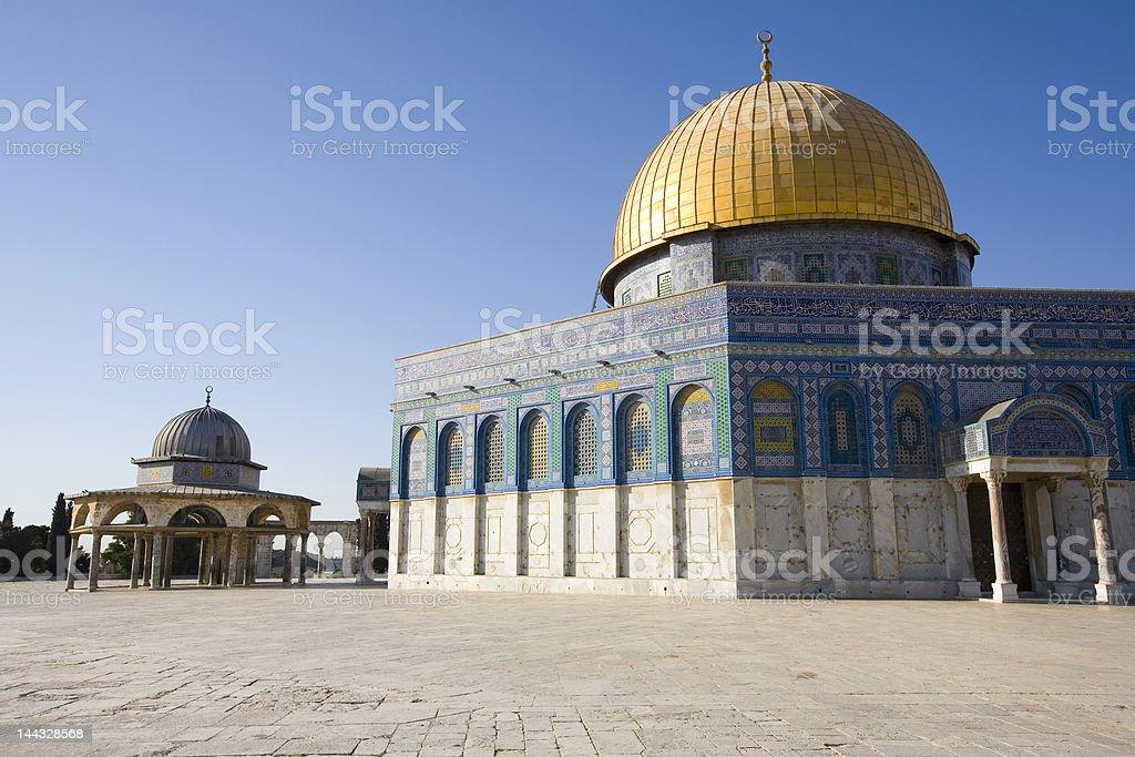 Dome of the Rock, Jerusalem stock photo