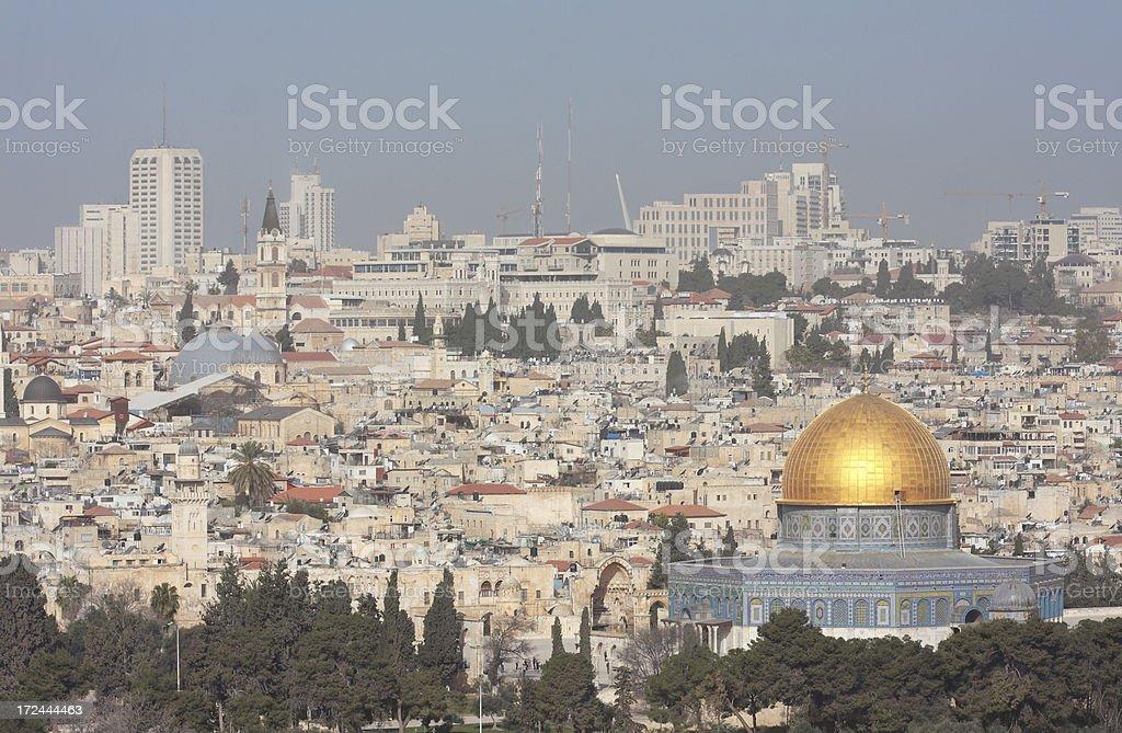 Dome of the Rock - Jerusalem royalty-free stock photo