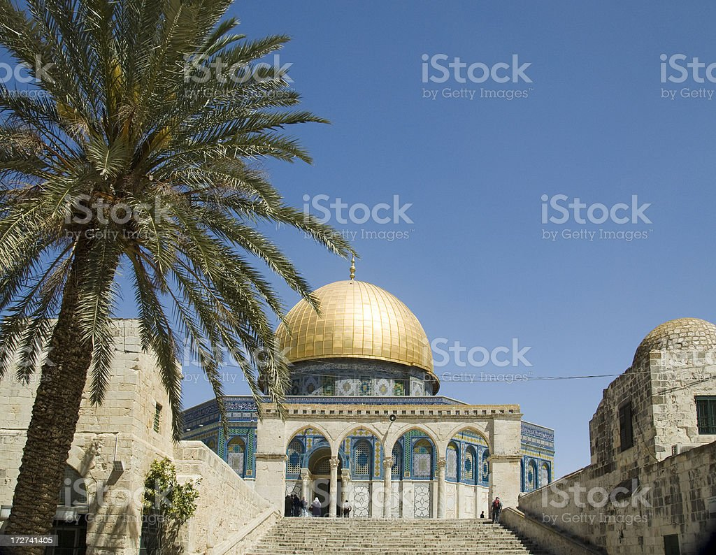 Dome of the Rock - Jerusalem royalty-free stock photo