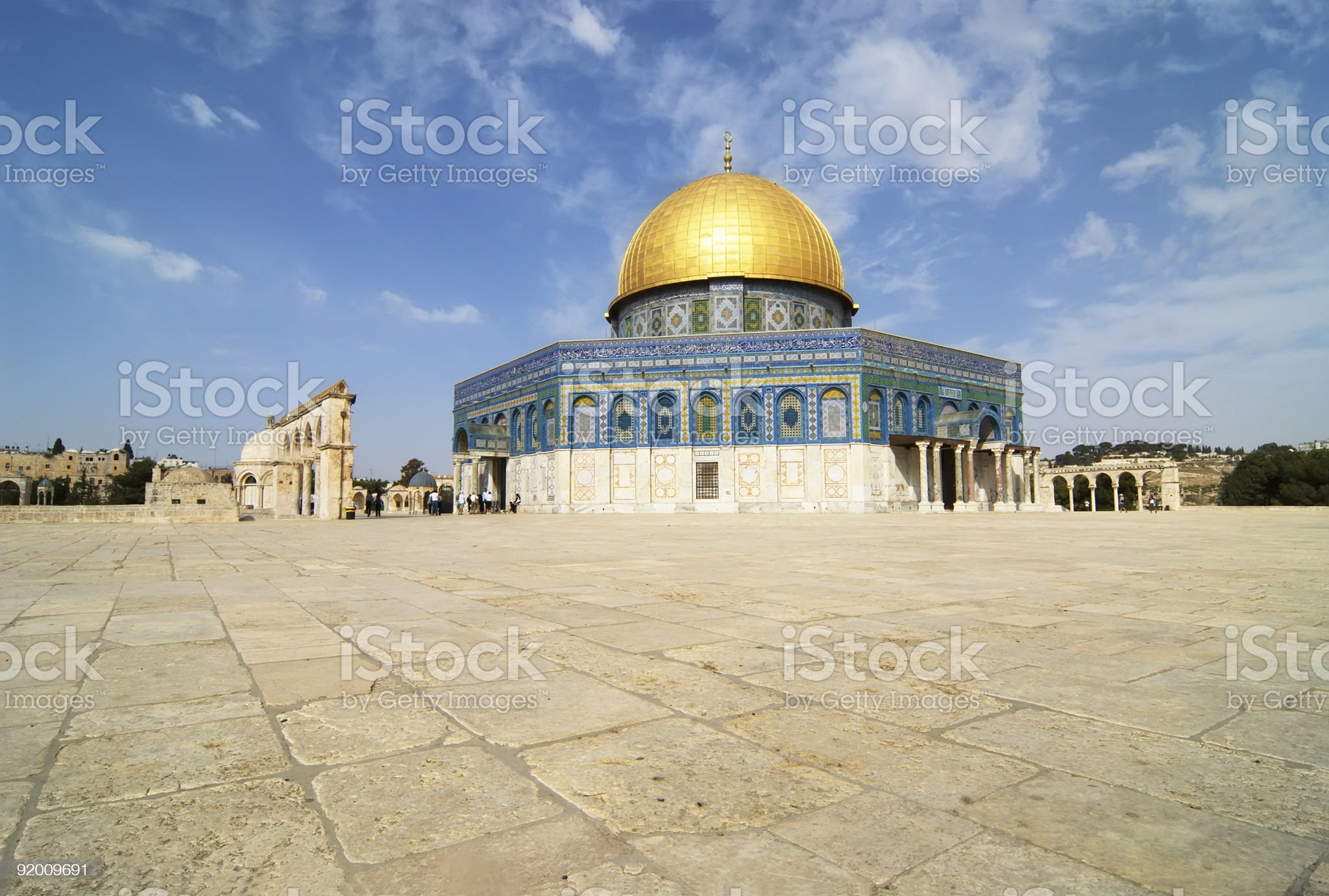 Dome of the Rock, Jerusalem royalty-free stock photo