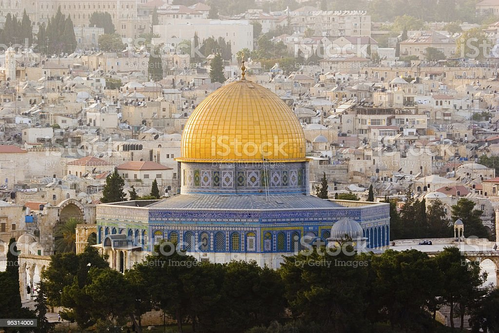 Dome of the Rock -Jerusalem royalty-free stock photo