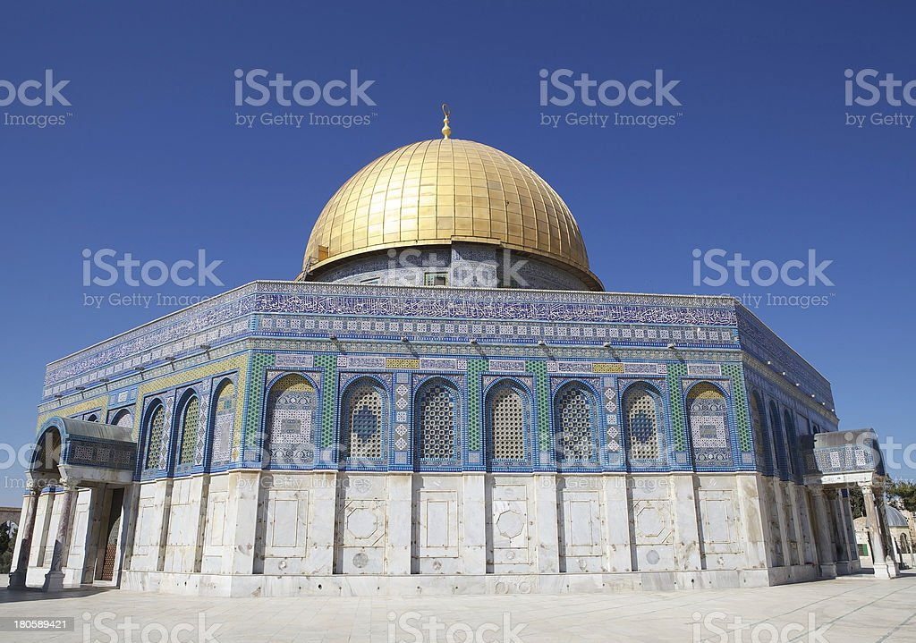 Dome of the Rock royalty-free stock photo