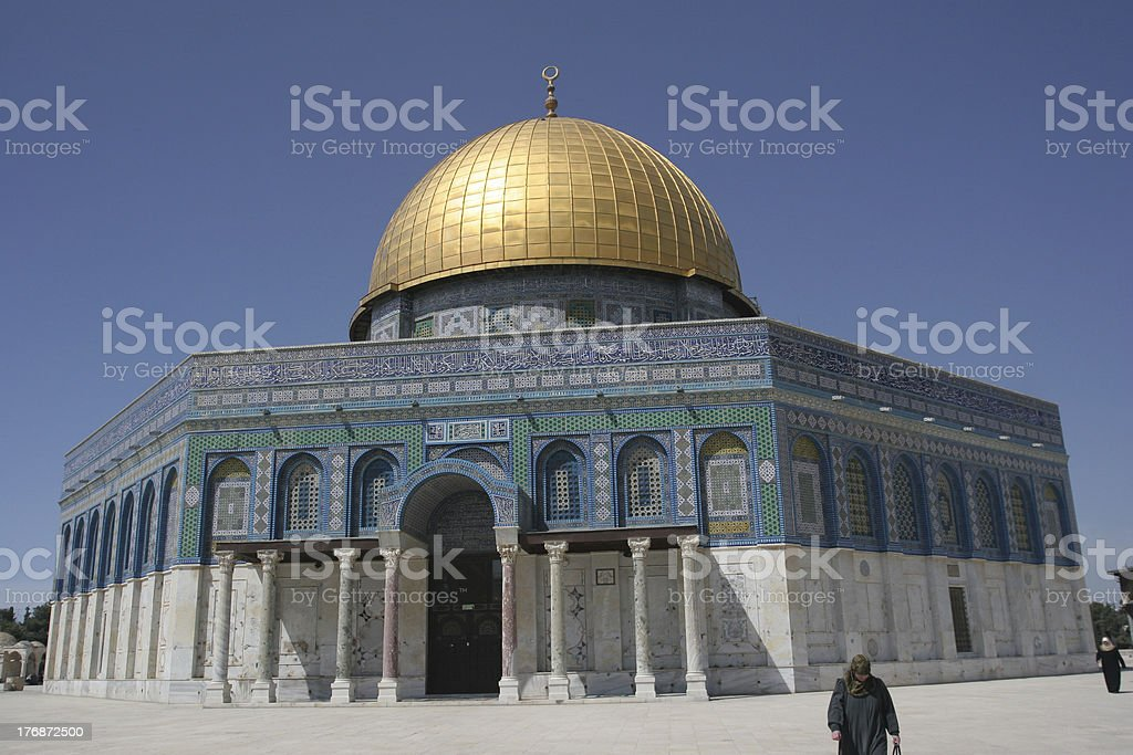 Dome of the Rock,Jerusalem,Israel royalty-free stock photo