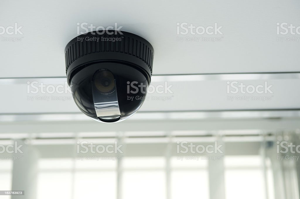 Dome Security Camera royalty-free stock photo