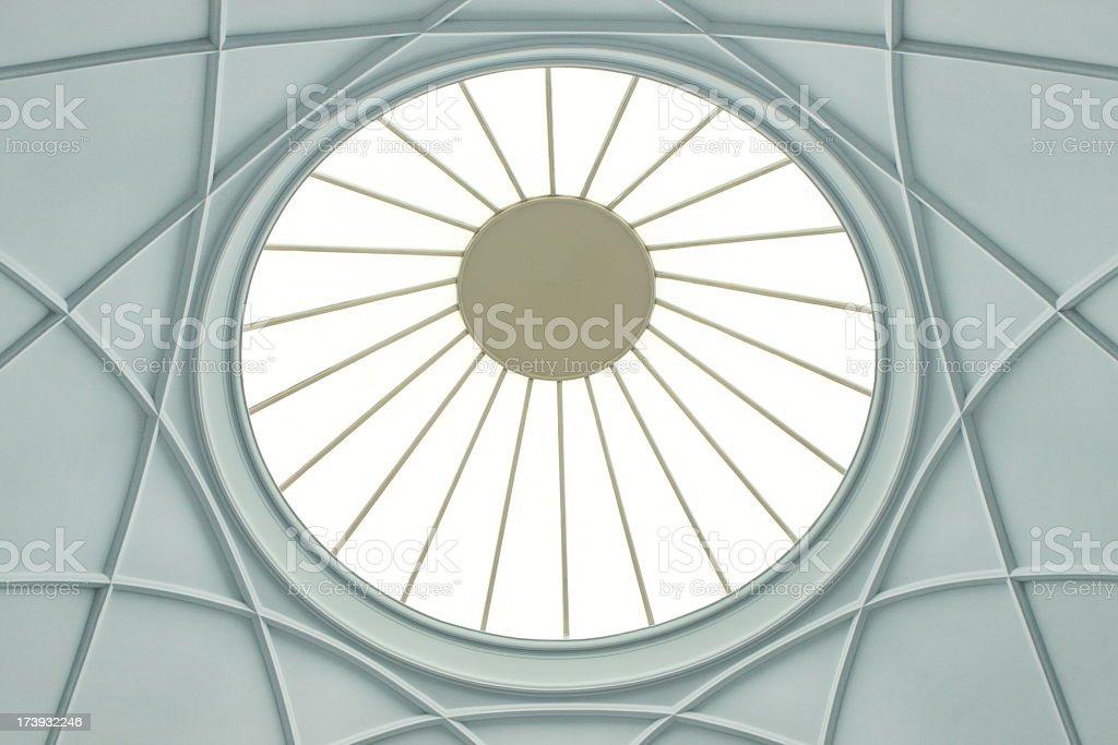 Dome Skylight Architecture Symmetry royalty-free stock photo