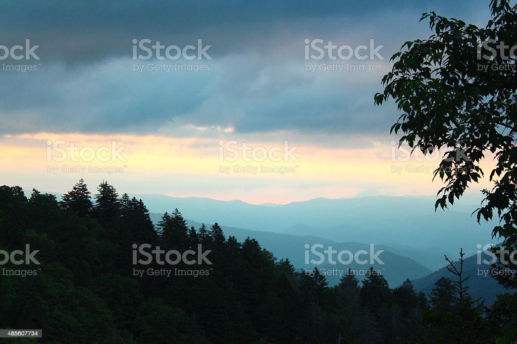 Dome Sunrise stock photo