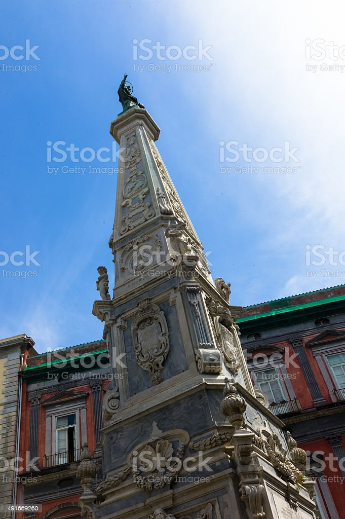 San Domenico Maggiore stock photo
