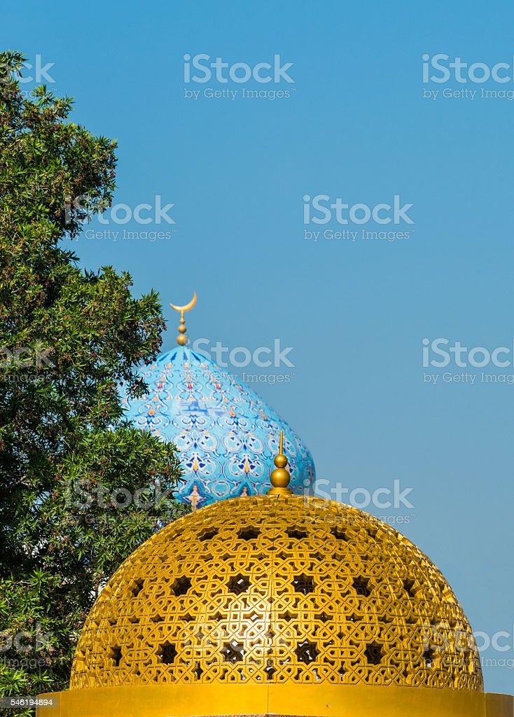 Domes, Mutrah, Muscat, Oman stock photo