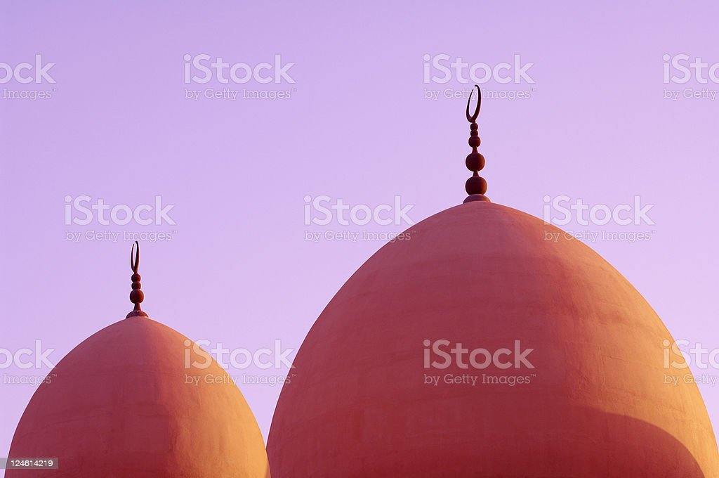 domes of mosque royalty-free stock photo