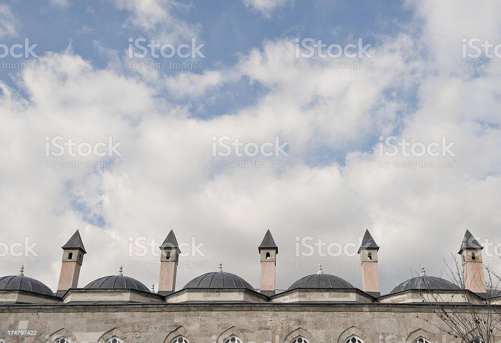 Domes royalty-free stock photo