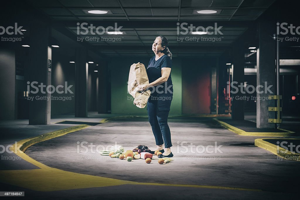 Domestic accidents stock photo