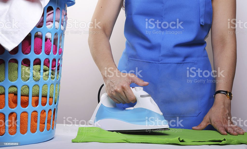 Domestic Chores royalty-free stock photo