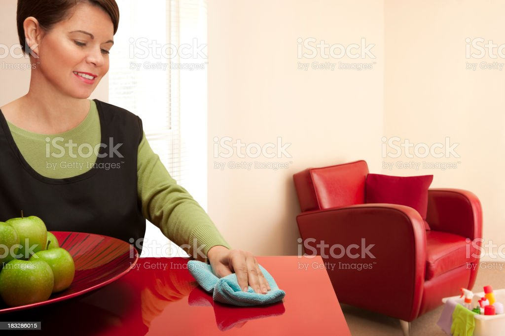 Domestic cleaner royalty-free stock photo