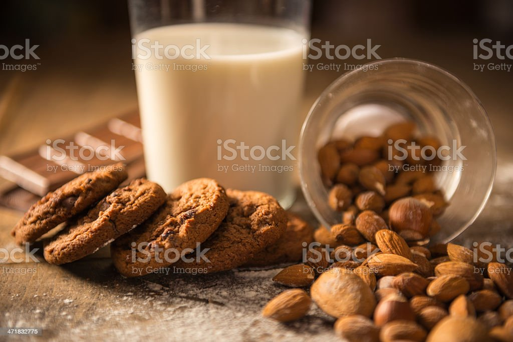Domestic cookies royalty-free stock photo