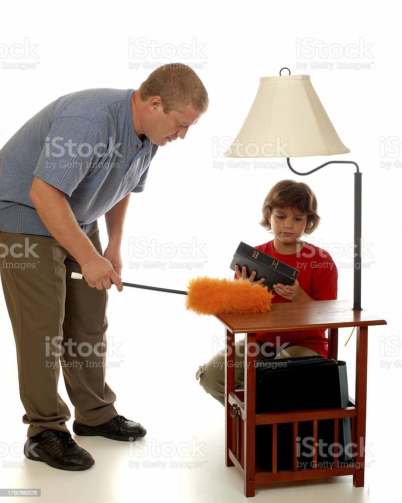 Domestic Dust Team royalty-free stock photo