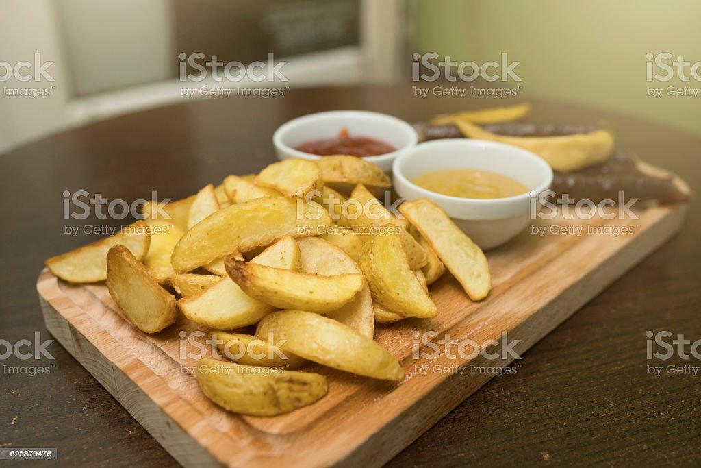 Domestic food stock photo