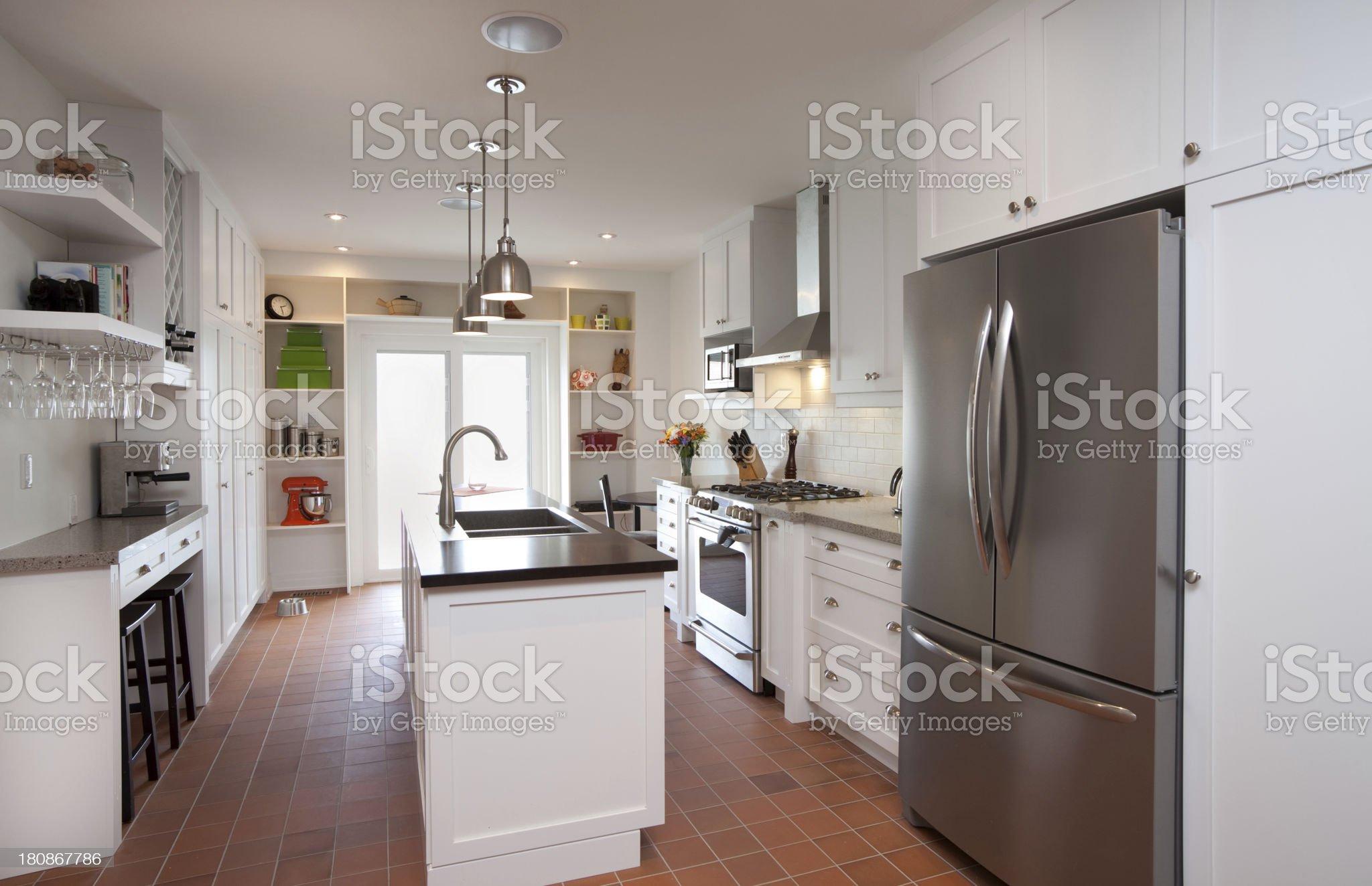 Domestic Kitchen royalty-free stock photo