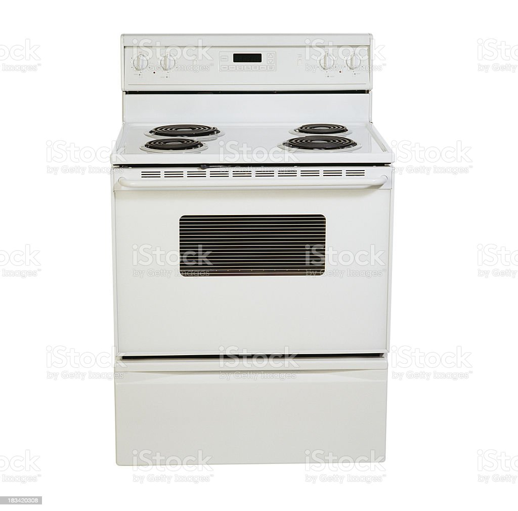Domestic stove royalty-free stock photo