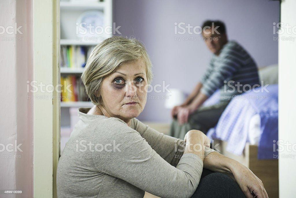 Domestic violance stock photo