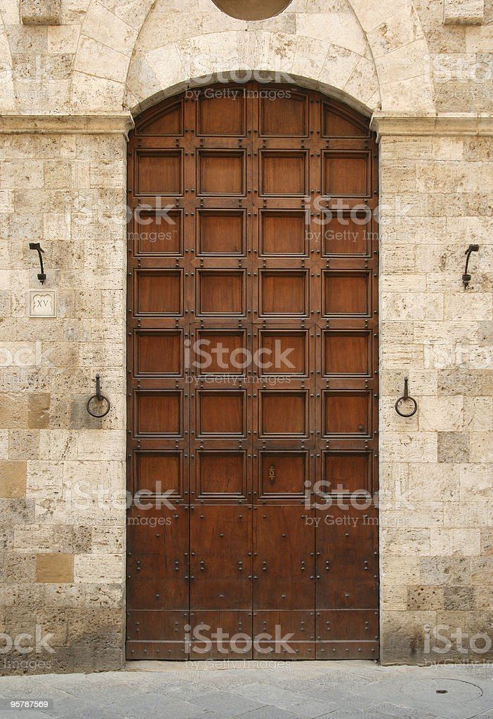 dominant entrance stock photo