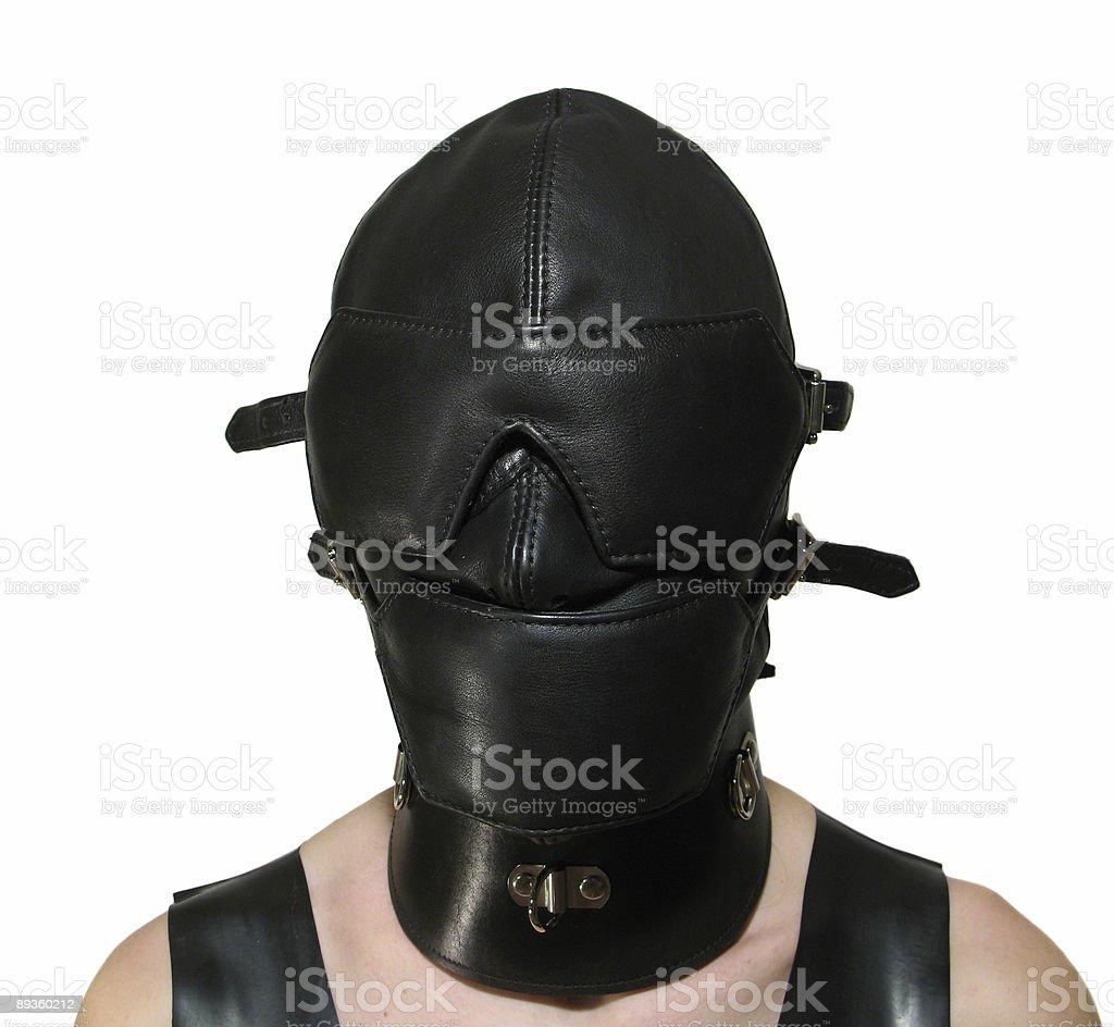 Domination mask royalty-free stock photo