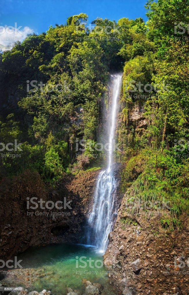 Dominica, Middleham Falls stock photo