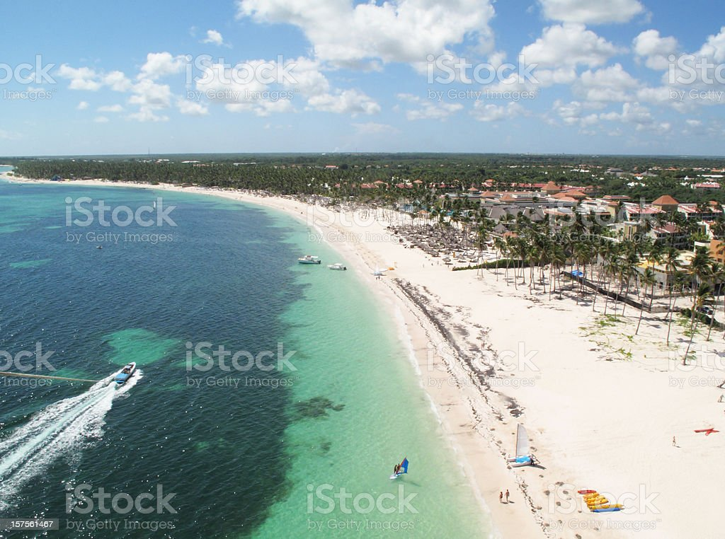 Dominican republic royalty-free stock photo