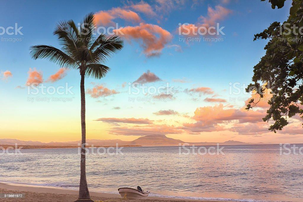 Dominican Sunrise - 1 stock photo