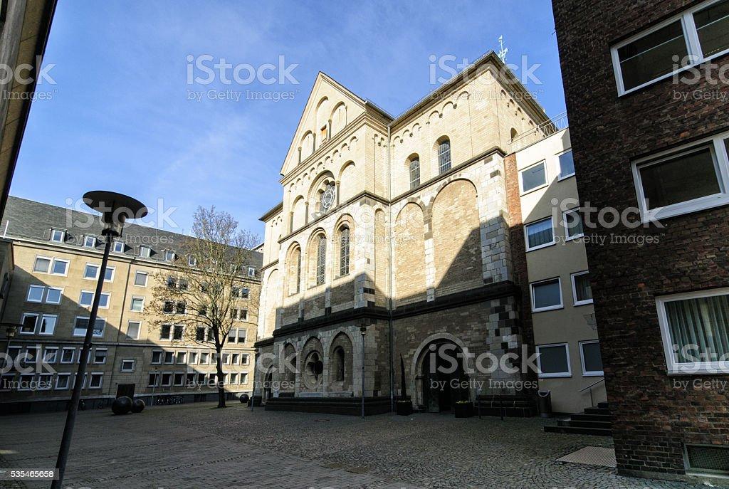 Dominikanerkirche St Andreas stock photo